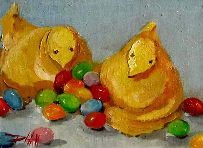 Art: Easter Candy by Artist Delilah Smith