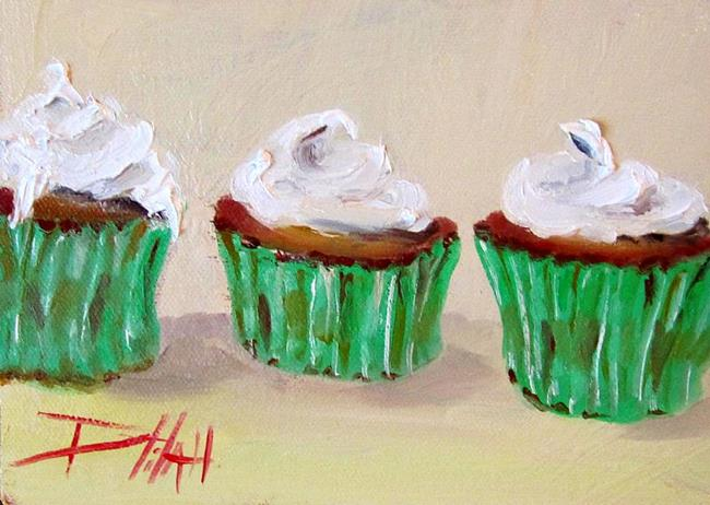 Art: Irish Cupcakes SOLD by Artist Delilah Smith