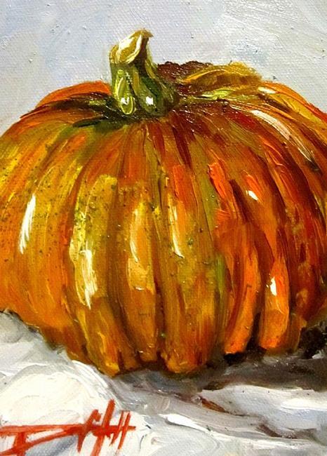 Art: October Pumpkin by Artist Delilah Smith