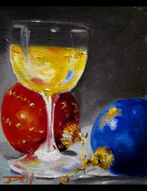 Art: Christmas Party by Artist Delilah Smith