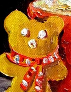 Detail Image for art Santa Treats-sold