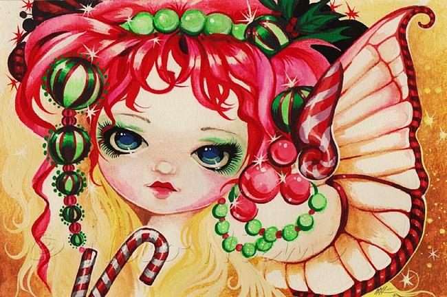 Art: So Sweet Fairy by Artist Nico Niemi