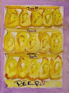 Detail Image for art Peeps-SOLD