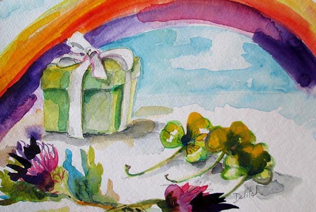 Art: Irish Luck-sold by Artist Delilah Smith