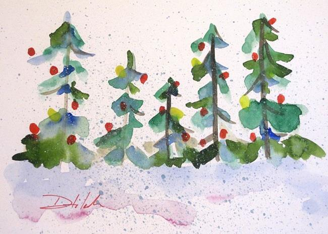 Art: Merry Christmas by Artist Delilah Smith