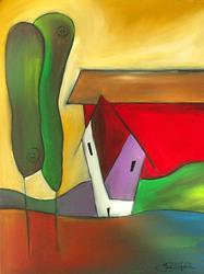 Art: Home 21 by Thomas C. Fedro