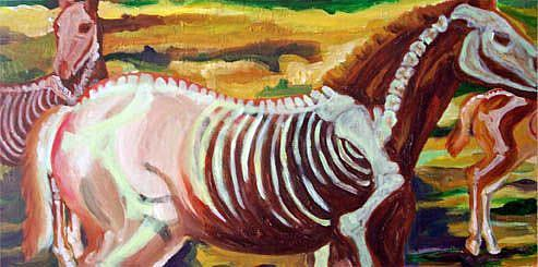 Art: This Year's Colt Crop by Artist Kim Loberg