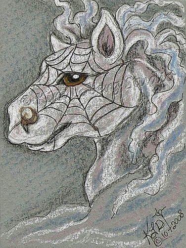Art: Spider Smoke Pony by Artist Kim Loberg