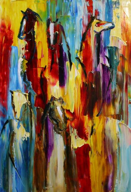 Art: Through the Color by Artist Laurie Justus Pace