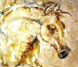 Art: Horse 4 by Artist Laurie Justus Pace