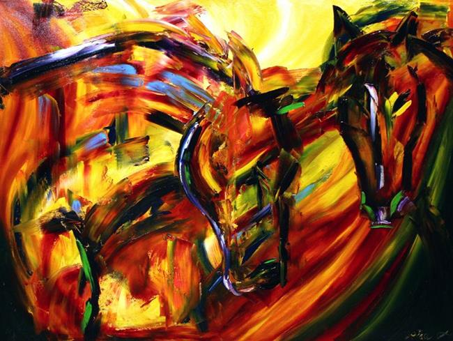 Movement of the spirit by laurie justus pace from horses for The art of painting
