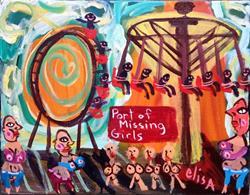 Art: Port Of Missing Girls by Artist Elisa Vegliante