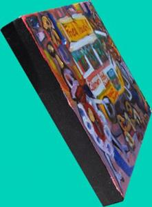 Detail Image for art Fried Dough Stand