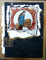 Art: Beauty and the Beast SOLD by Artist Cathy  (Kate) Johnson