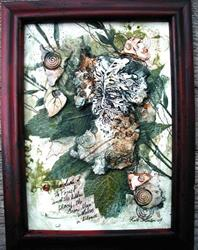 Art: Deep Forest Green Man SOLD by Artist Cathy  (Kate) Johnson
