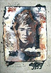 Art: Homage to the People SOLD by Artist Cathy  (Kate) Johnson