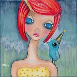 Art: Lets Be Friends by Artist Sherry Key