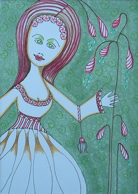 Art: Miss Mintdripper by Artist Sherry Key