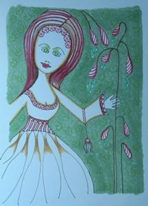 Detail Image for art Miss Mintdripper
