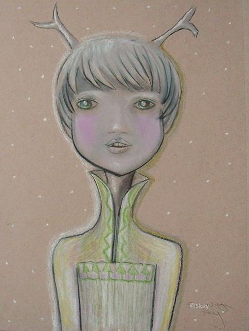 Art: Jack Frost by Artist Sherry Key