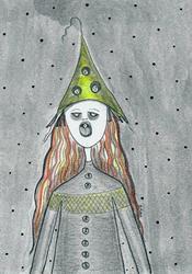 Art: Peeps Keeper by Artist Sherry Key