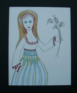 Detail Image for art Miss Honeydripper