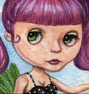 Detail Image for art Blythe Goes Joyriding