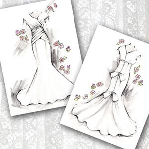Detail Image for art Bridal Gown - Front