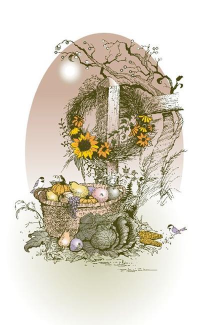 Art: November Sun by Artist Patricia  Lee Christensen