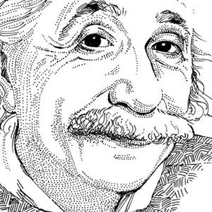 Detail Image for art Albert Einstein