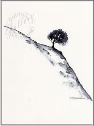 Art: Lone Tree by Artist Patricia  Lee Christensen