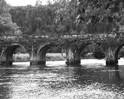 Art: Inistiogue Bridge by Artist Jenny Doss