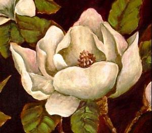 Detail Image for art Moon Light Magnolias