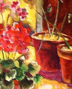 Detail Image for art Spring Garden - SOLD