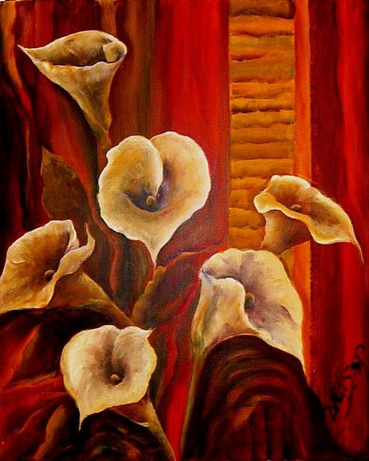 Art: Calla Lily #4 - SOLD by Artist Diane Millsap