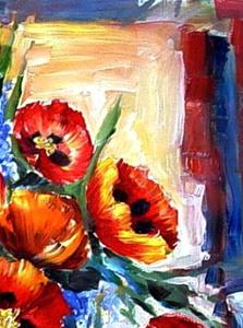 Detail Image for art A Splash of Poppies