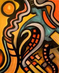 Art: Uptown by Artist Roy Guzman