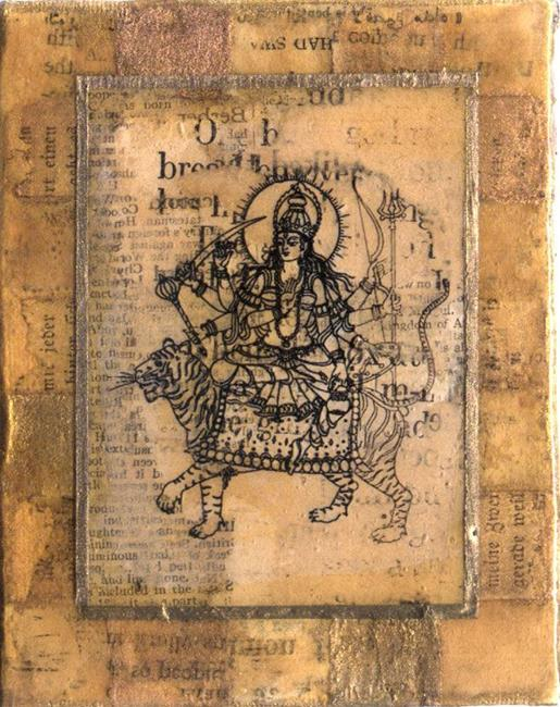 Art: Durga by Artist Aria Nadii