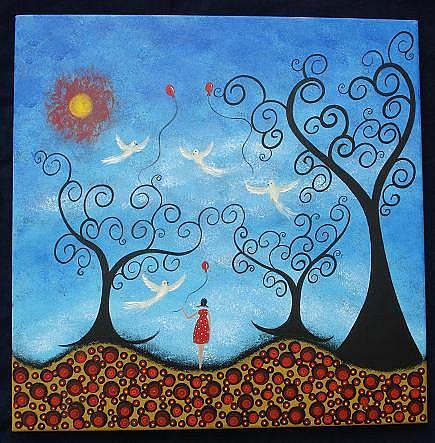 Art: Wishing To Fly by Artist Juli Cady Ryan