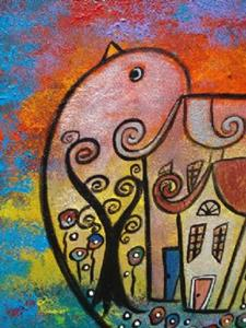 Detail Image for art Peace Surrounds Us