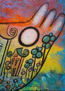 Detail Image for art Peace Surrounds Us