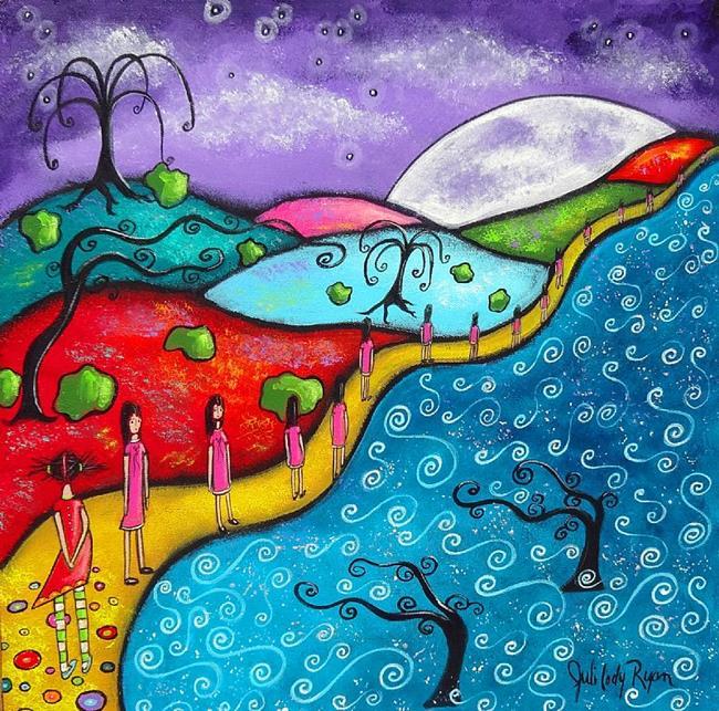 Art: Outside the Lines by Artist Juli Cady Ryan