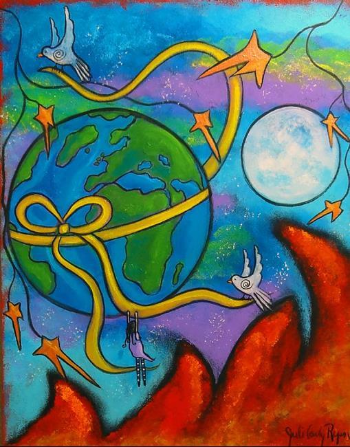 Art: She Dreams Of Peace by Artist Juli Cady Ryan