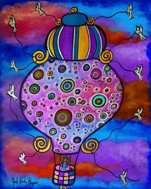 Art: In Search Of Peace by Artist Juli Cady Ryan