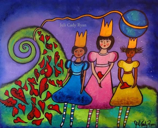 Art: The Heart Menders by Artist Juli Cady Ryan