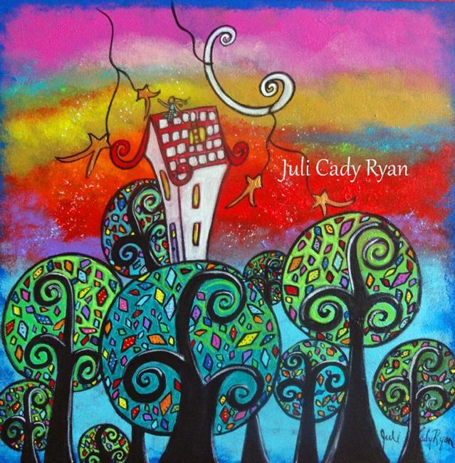 Art: Higher Ground by Artist Juli Cady Ryan