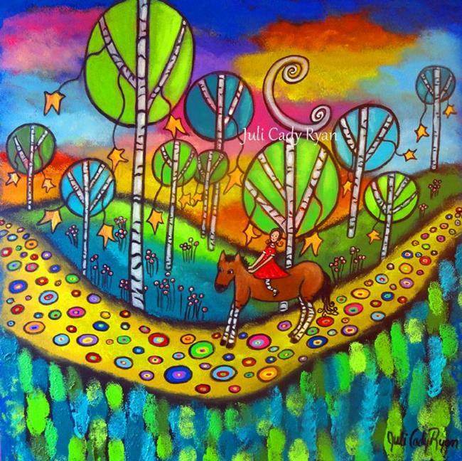 Art: Kindred Spirits by Artist Juli Cady Ryan
