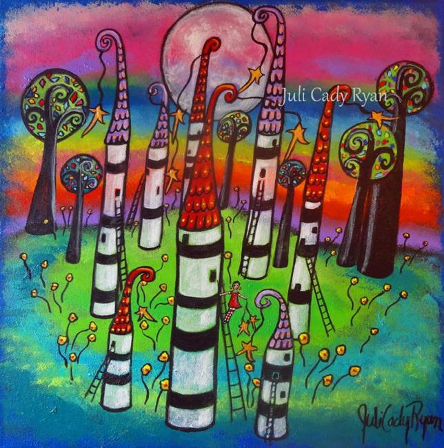 Art: Creating My World VI by Artist Juli Cady Ryan