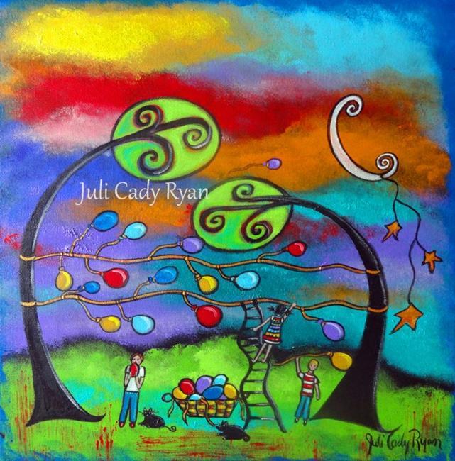 Art: Sharing Small Victories by Artist Juli Cady Ryan