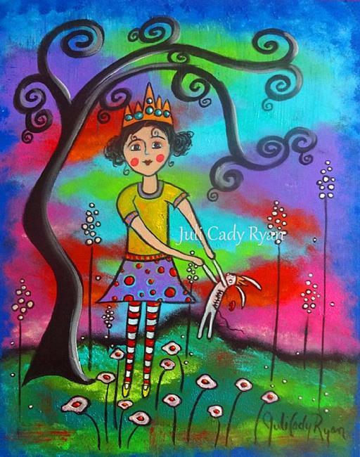 Art: Hidden Bravery by Artist Juli Cady Ryan